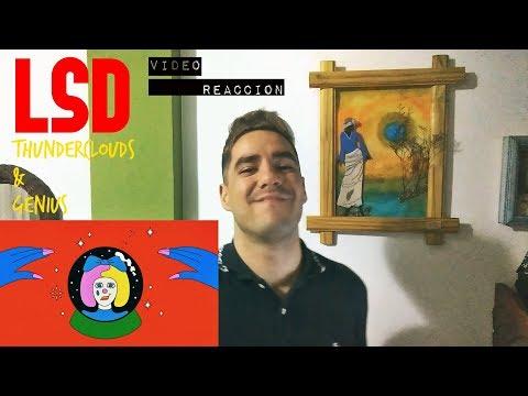 "LSD - ""Thunderclouds"" & ""Genius""  Reaccion  Reaction"