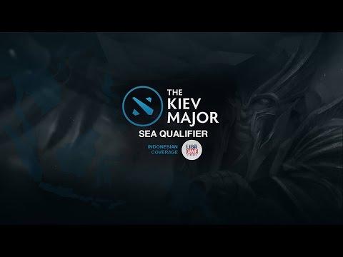 DOTA 2: Rex Regum Qeon (RRQ) @KIEV Major SEA Qualifier Day 2