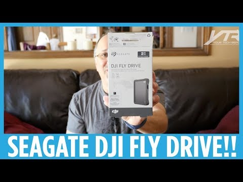 Seagate DJI Fly Drive Hands-on