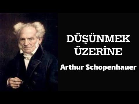 '' Düşünmek Üzerine '' Arthur Schopenhauer Sesli Kitap