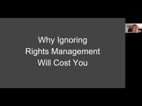 Rights Management webinar
