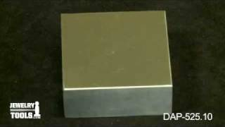 Dap-525.10 - Steel Bench Block, Small Economy Block - Jewelry Making Tools Demo