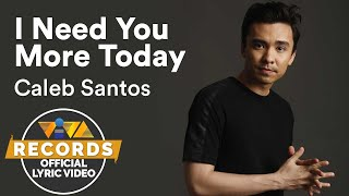 Caleb Santos I Need You More Today From 100 Tula Para Kay Stella OST Official Lyric Video