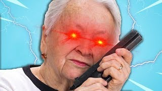My Grandma KICKED ME out of a WINDOW!   Granny Simulator