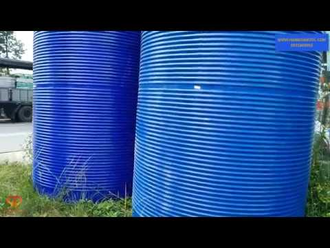 Bồn nước nhựa 10000 lít Tân Á Đại Thành cũ đã qua sử dụng