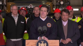 NYC officials give an update on preps for the winter storm