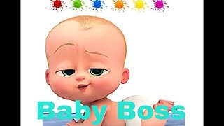 Baby Boss coloring and drawing for Kids