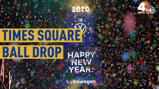 See the 2020 Times Square Ball Drop From Above NBC New York