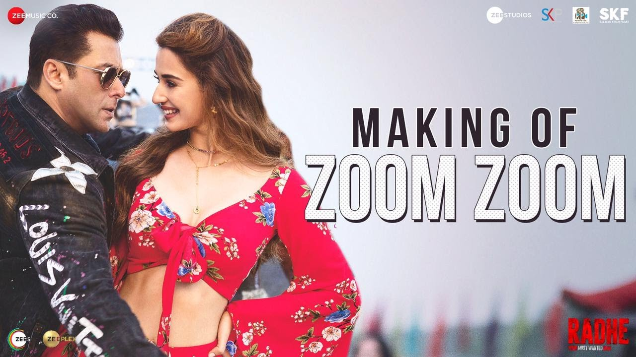 Zoom Zoom - Making | Radhe - Your Most Wanted Bhai|Salman Khan,Disha Patani|Ash, Iulia V|Sajid Wajid