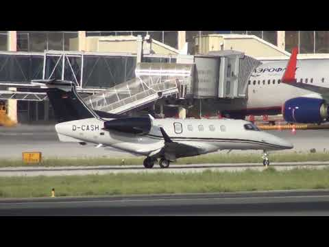 Private Embraer EMB 505 Phenom 300 D-CASH Taxing Malaga LEMG