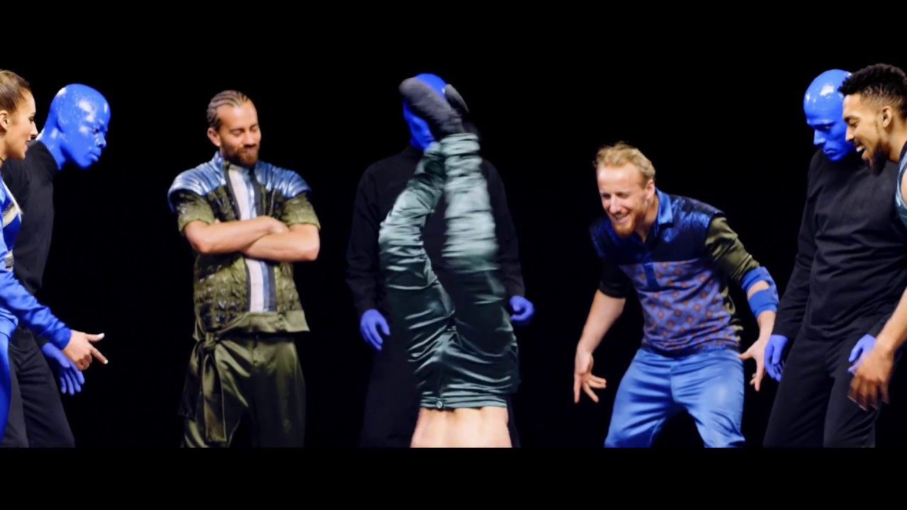 Flying Steps meets Blue Man Group