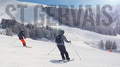4K Skiiing France 2019 - St Gervais Mont Blanc - DJI Mavic Pro - DJI Osmo Pocket