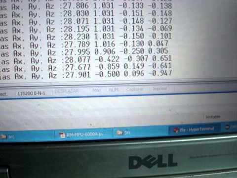 STM32F411 - Reading MPU6000 Accelerometer and Temp data