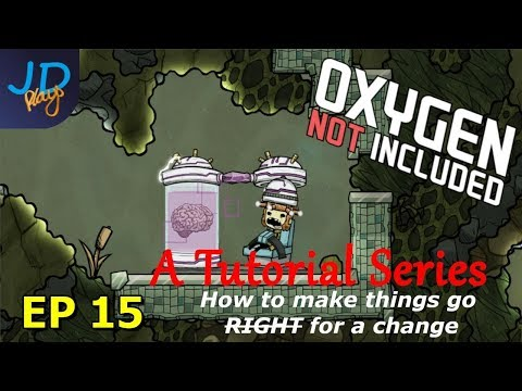 EP15 Never go stale food storage and Fire poles | The Tutorial - Oxygen Not Included thumbnail