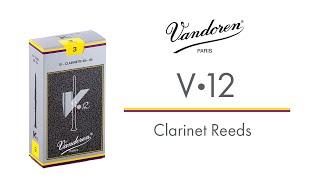 V12 Clarinet Reeds - Vandoren
