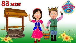 Jack and Jill Nursery Rhymes Song with Lyrics- Teach your Child to be Persistent