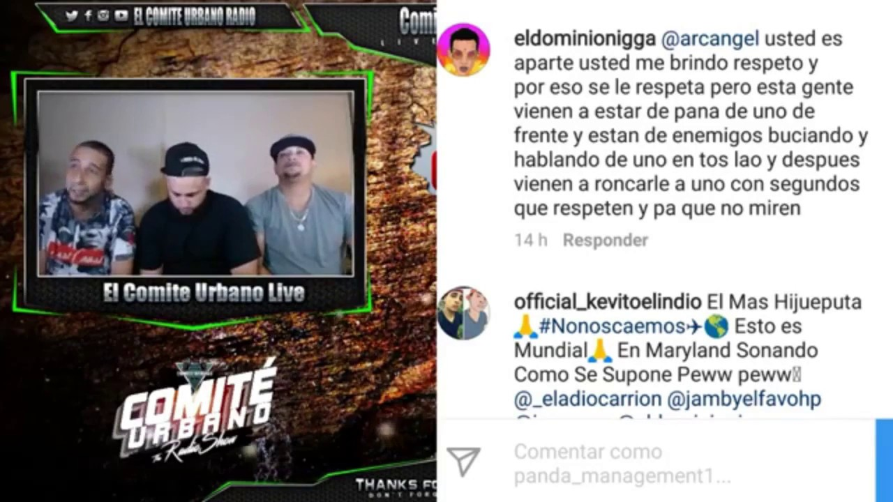 "El Dominio - Le Tira a Bad Bunny ""Tu Jeva Aprendio a Maliantiar Conmigo"" - Opinion - Comite Urbano"
