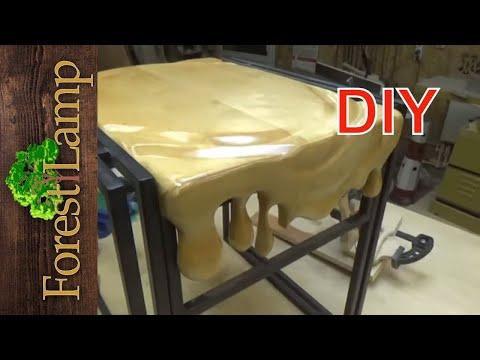 Как сделать мебель ДЛЯ ДАЧИ своими руками/ ЭФФЕКТ РАСПЛАВЛЕННОГО ДЕРЕВА .Сальвадор Дали.