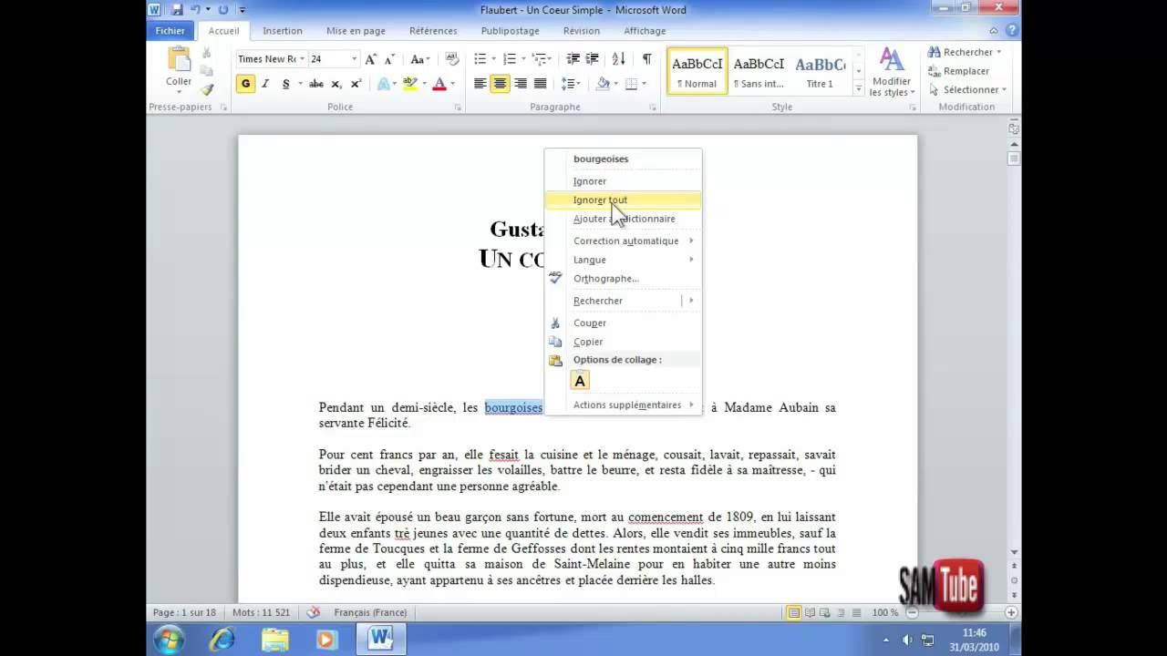 correcteur dorthographe pour wordpad