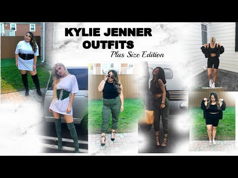 I COPIED KYLIE JENNER'S OUTFITS!! | PLUS SIZE EDITION| CELEBRITY LOOKS FOR LESS