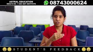 ASTRAL EDUCATION STUDENT REVIEW : Janki Patel (Gujarat)