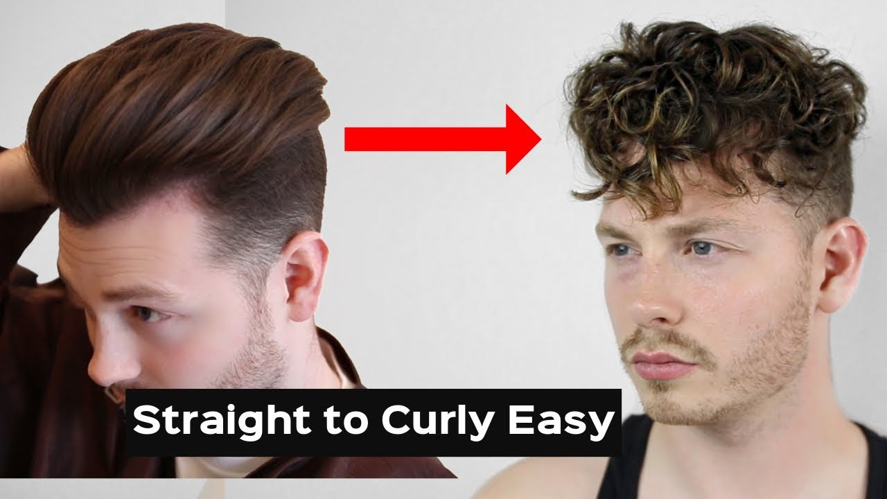 i have wavy hair how do i style it how to get curly hair easy tutorial to curly 4679 | maxresdefault