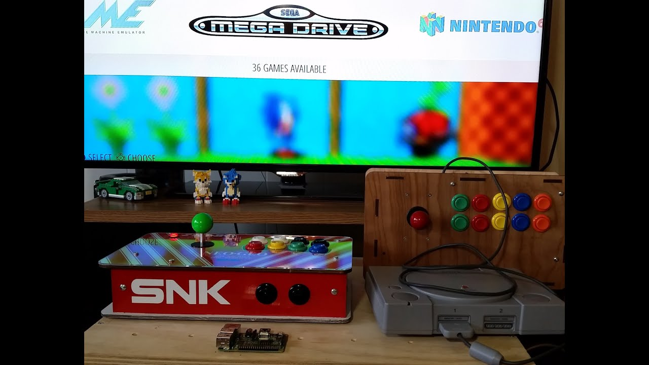 Diy universal arcade controller fight stick kit youtube solutioingenieria Gallery