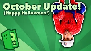 October Update! (Happy Halloween!)
