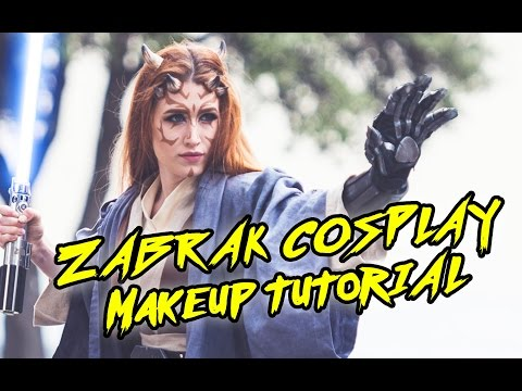Zabrak Tattoo & Makeup Tutorial [Star Wars]
