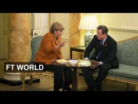 Merkel and Cameron Face Off
