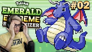 Pokemon Emerald Extreme Randomizer • A BLUE DRAGONITE?! • #02