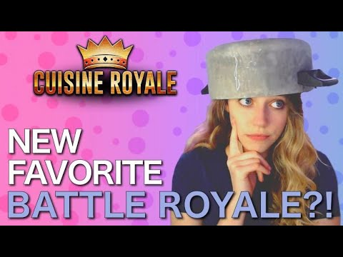 CUISINE ROYALE COMPILATION: This Might Just Be My New Favorite Battle Royale. The Ending Though!!!