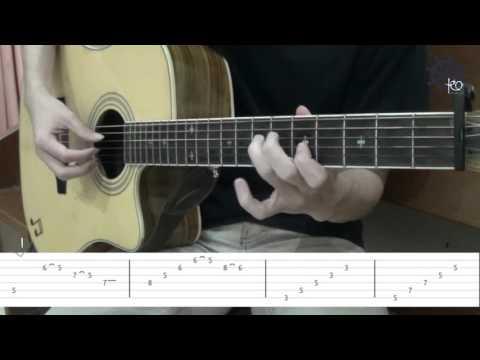 5 MENIT Belajar Gitar (Lebih Indah - Adera) + TAB
