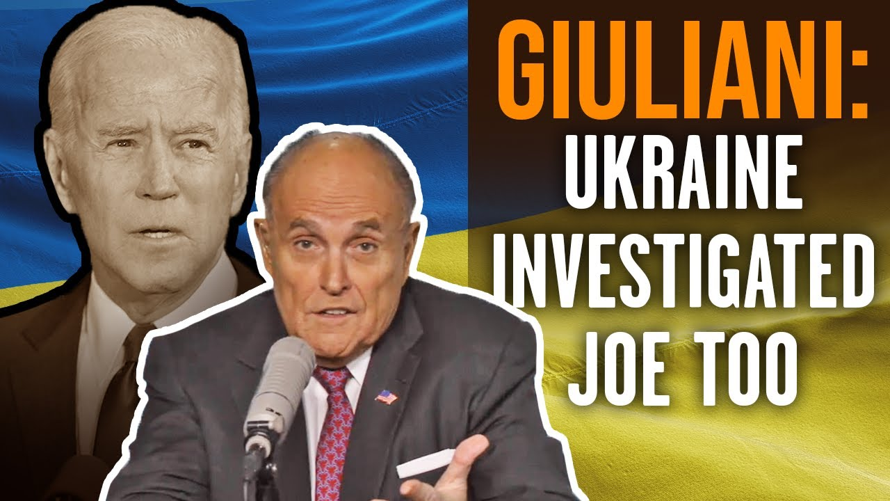 RUDY GIULIANI: Joe, Hunter Biden Crime in Ukraine, China unpunished because of a 'corrupt media