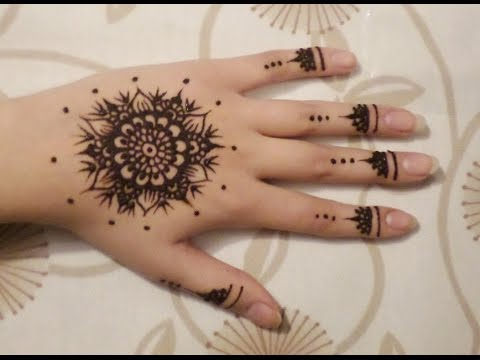 Easy, Simple Henna Design