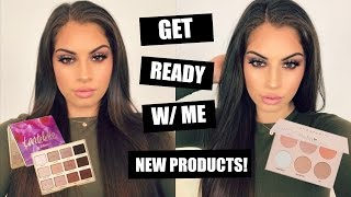 GET READY W/ ME♡ TRYING OUT NEW MAKEUP! + GIVEAWAY