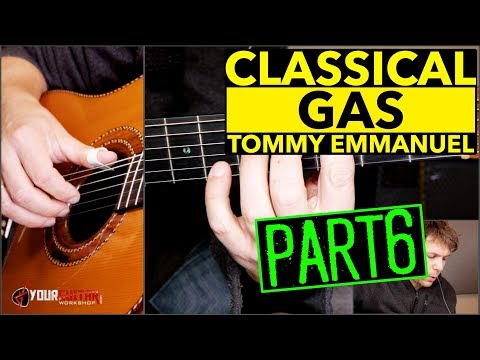 How To Play Classical Gas Tommy Emmanuel Lesson P6