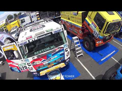 DAKAR 2016 NR.520 GINAF RALLY POWER