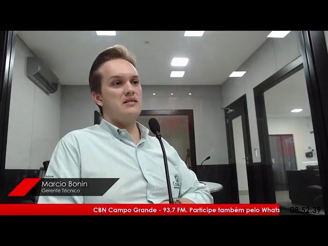 Entrevista CBN Campo Grande: Marcio Bonin, gerente técnico da Connan