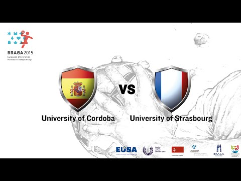 U. Cordoba vs U. Strasbourg | Male | Group A | UMinho Sports Hall