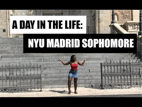 STUDY ABROAD VLOG 7: Day in the Life of an NYU Student in Madrid
