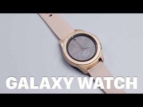 Mở Hộp Galaxy Watch Chính Hãng: Giá 7triệu Cho Bản 42mm đen/ Vàng Hồng, 7.5 Triệu Cho Bản 46mm Bạc