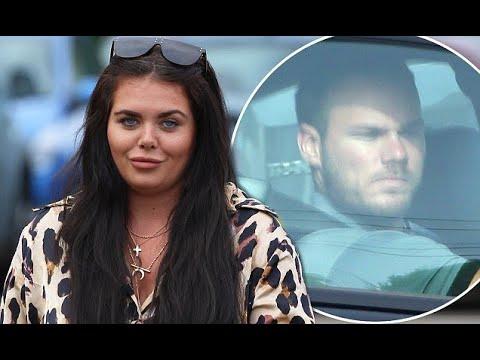 Scarlett Moffatt Picture Exclusive Tv Hosts Cheating Beau Lee Wilkinson Is Seen On Her Driveway