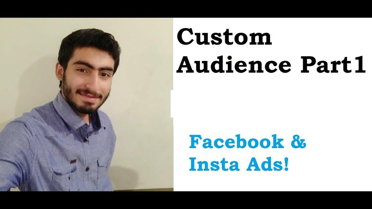 11. custom audience facebook ads in Urdu/Hindi part 1  | Facebook Ads tutoial in Urdu/Hindi