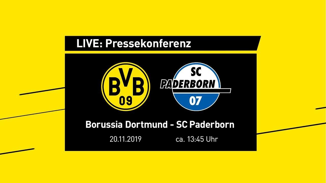 LIVE: Pressekonferenz mit Lucien Favre & Michael Zorc | BVB - SC Paderborn