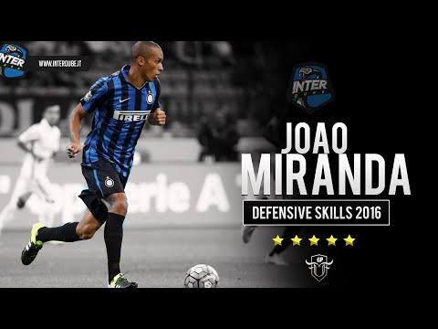 João Miranda || Best Defensive Skills || F.C Internazionale || 2016