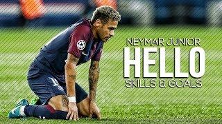 Neymar jr  Hello ft Adele  Magical Skills  Goals 2018  HD