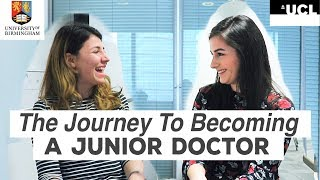 Medicine Rejections, Applying for Medical School & Becoming a Junior Doctor!   Atousa Interviews