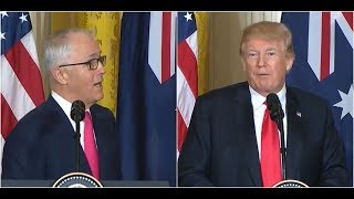 YOU will NOT believe what Australian PM Malcolm Turnbull said to President Trump on Leadership