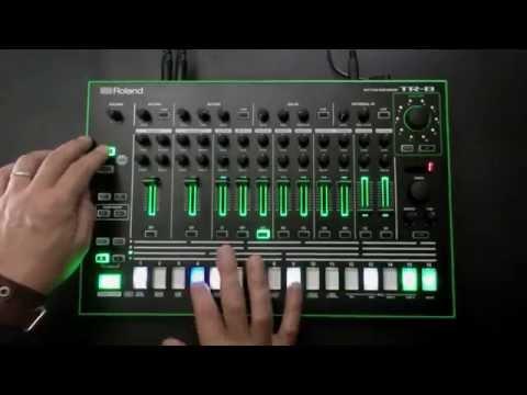 AIRA — 7X7-TR8 Drum Machine Expansion demo